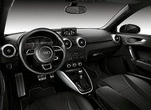 Audi A1 amplified interior