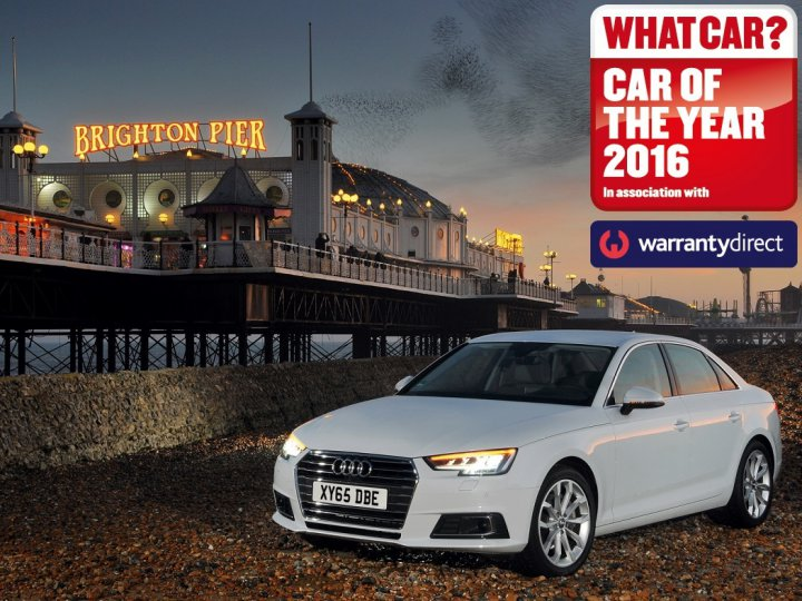 New Audi A4 wins What Car? Car of the Year Award